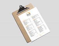 Restaurant brand & stationery