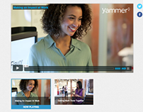 Yammer Changing Work Campaign