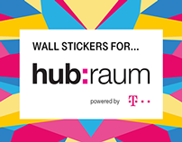 Interior Wall Stickers for hub:raum Cracow