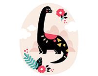 Rubysaurus the Dinosaur