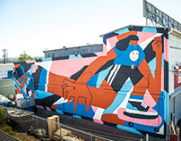 MURAL FOR SODO TRACK, SEATTLE