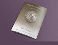 Mise en page d'une revue sur les médailles (Camosine)