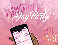 #SUMMERTIMEINTHE6IX PARTY FLYER