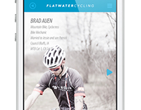 Flatwater Cycling App