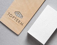 TopTerm – Logo for Building Construction Company