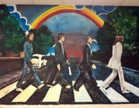 Abbey Road Mural- senior project (2011)