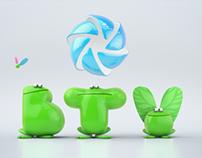 BTV Spring Green Ident
