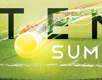 Tennis Clinic Promotional Banner