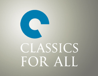 Classics for All brand identity