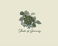 "Shade of Greenery | ""Take - Away"" Plant Packaging"