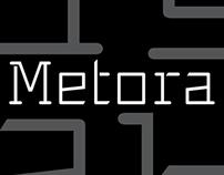 PTF Metora - typeface