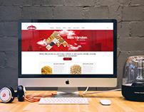 Simaş Bulgur Web Sitesi Tasarımı & Yazılımı