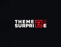 THEMEZ SURPRIZE - LOGO DESIGN , IDENTITY PROGRAM
