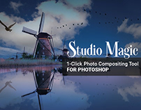 1-Click Photo Compositing Tool for Photoshop