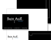 Back Allie Films - Logo and stationery