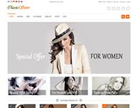 ClassicStore, Magento Responsive Minimalistic Store The