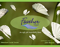 Feather Touch- Tissue Packaging
