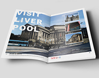 Visit Liverpool Double-page Spread.