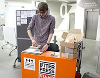 Letterpress stamp