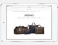 Mismo eCommerce Site