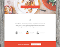 Housekitchen branding and webdesign