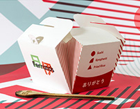 Package Design: Ferrato's Italian & Japanese Fusion