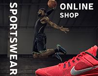 Sportswear online shop