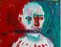 Skinhead portrait