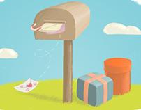 Ticklebot illustrations