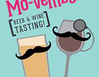 Mo-Vember Beer & Wine Tasting