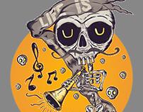 Trumpet Skeleton
