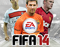 FIFA 14 Game Cover Concept