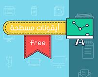 Free | Flat iCons