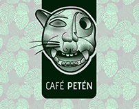 «Café Petén» Logo e Imagen