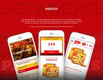 BAUDUCCO - Ecommerce Mobile
