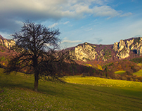 Sulov rocks autumn