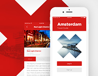 Amsterdam Travel Guide / iOS App