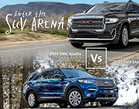 Enter the SUV Arena - Motion Graphics