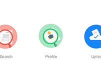 A Group Icon in Flat Design