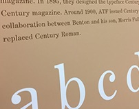 Century Expanded typeface