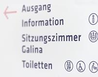 Liechtensteinisches Landesspital: Signage