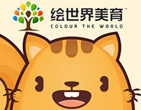 Colour the World - Art Academy Kawaii Mascot Design