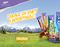 Website for Milka consument promo