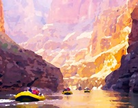 Grand Canyon Watercolors - Dane Shakespear