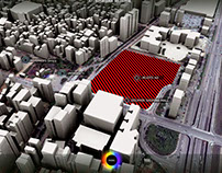3d realtime interactive city map