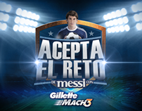El Reto Messi - Gillette