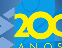 Banco do Brasil 200 Years Anniversary Logo