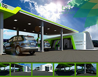 Bp Gas Station Design