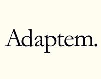 Talking diseña la identidad gráfica de Adaptem.