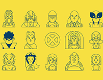 X-Men Apocalypse Iconset.